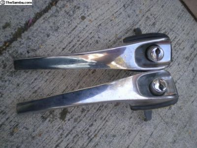 Porsche 911/912 door handles no key left and right