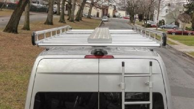 Commercial Van Shelving, Equipment and Interiors | Van Ladder Racks