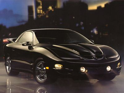 1998 Pontiac Firebird Trans Am (Arctic White)