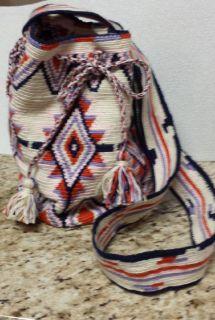 Mochila hand crochet bag