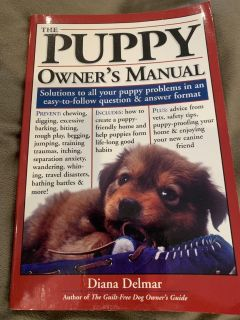 PUPPY OWNER S MANUAL BOOK