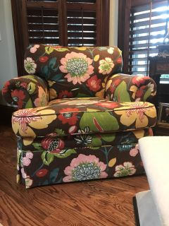 2 Large Club Chairs