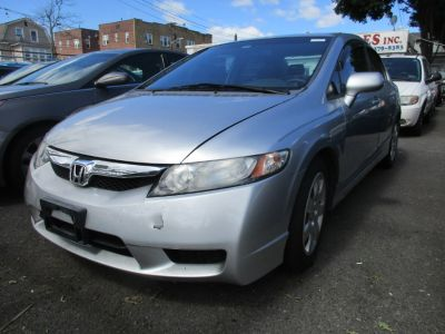 2009 Honda Civic LX (Alabaster Silver Metallic)