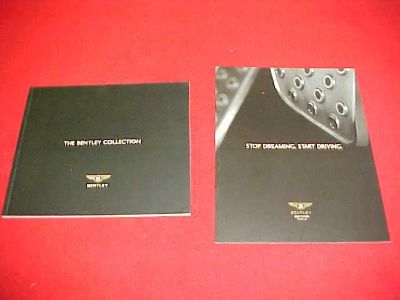 Sell 2004-2005 BENTLEY ORIGINAL BROCHURE DEALEAR SALES LITERATURE 04 05 LOT OF 2 motorcycle in Leo, Indiana, US, for US $9.99