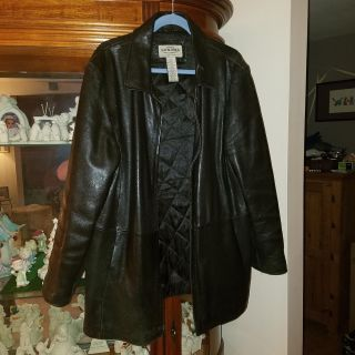 Sonoma Woman's Leather Jacket