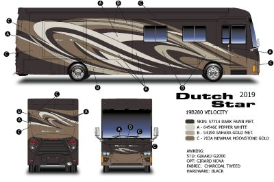 2019 Newmar Dutch Star 4018, Custom, Loaded! 2019 CLEARANCE!!