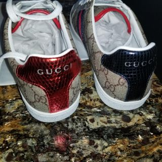 Gucci Mens shoe size 8 in stock and ready to ship