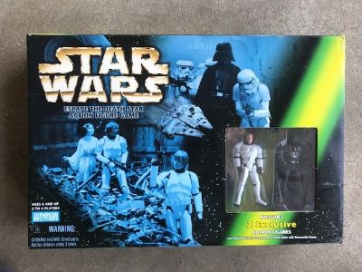 Star Wars - Escape the Death Star (Action Figure Game)