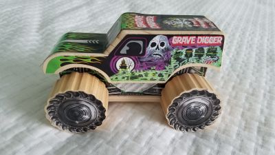 Lowe's Build & Grow Wooden Monster Truck toy.