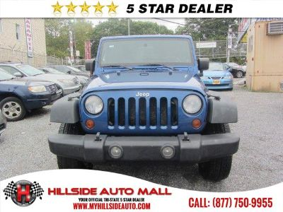 2009 Jeep Wrangler Unlimited X (Blue)