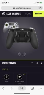 Scuf Vantage wireless controller for ps4 and pc