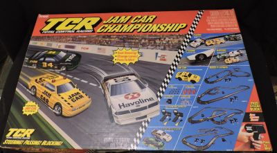 Vintage TYCO Jam Car Championship so NICE CLEAN Collectible slot Car Racing
