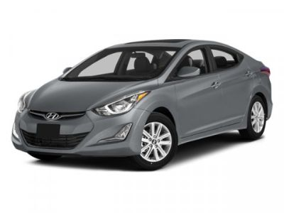 2014 Hyundai Elantra GLS (Windy Sea Blue)