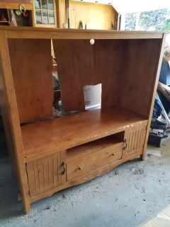 Free- HEAVY TV stand