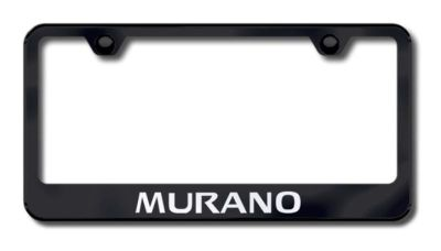 Purchase Nissan Murano Laser Etched License Plate Frame-Black Made in USA Genuine motorcycle in San Tan Valley, Arizona, US, for US $34.49