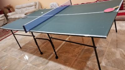 Foldable Pingpong Table with wheels