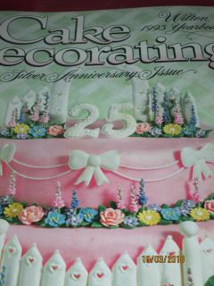 WILTON 1995 COLLECTIBLE CAKE DECORATING YEARBOOK