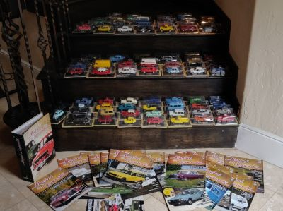 77-pieces Retro Eastern European Diecast Car Collection 1:43 (Mint Condition)