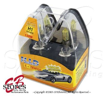 Purchase Retail Box 100w H1 Yellow Xenon HID Foglight Light Bulb motorcycle in La Puente, California, United States, for US $6.40