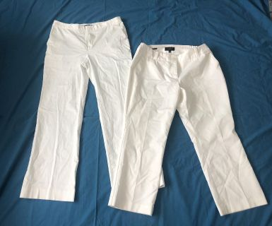 Women s White Pants and Capris