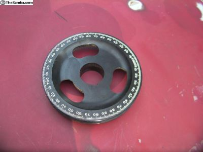 Sand seal Bugpack pulley new