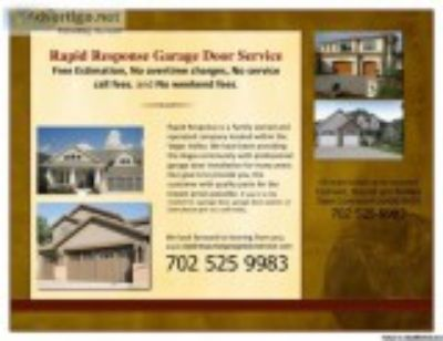 Garage Door Service in the Valley-On Call -Low Prices