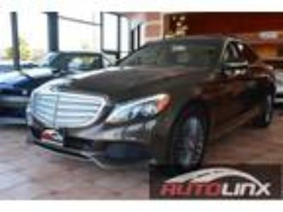 2015 Mercedes-Benz C-Class C300 4MATIC Sedan Brown, Clean Carfax, Burmester
