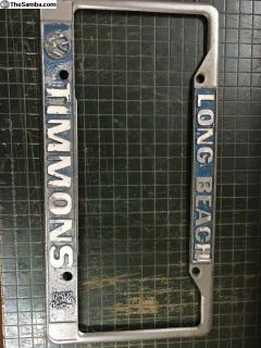 Old Timmons VW liv.frame
