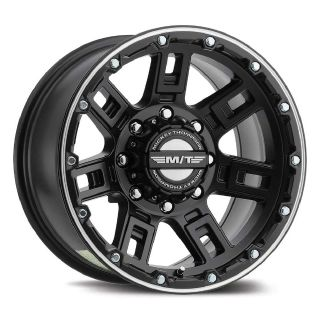 "NEW Mickey Thompson Sidebiter Lock wheel set (15x8"" for 2000 Jeep)"