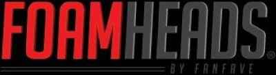 3D Fan Foam Logo Signs - Foam Heads