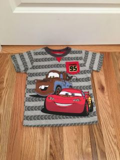 Disney s Cars T-shirt. Size 4t. Washed, Never Worn (name written on collar)