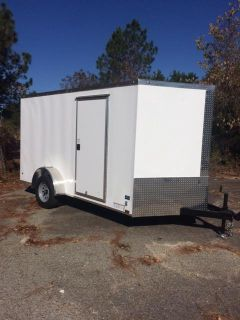$2,099, FREE GIFT-Best Low Prices-New Enclosed Cargo Trailers-Free Colors-LED Lights-RSide Door-6x12