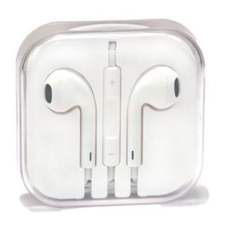 NEW - Apple Original EarPods Earphones Headphones with Remote and Mic - White