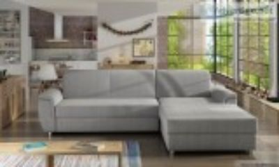 Gorgeous sectional with fold-out bed