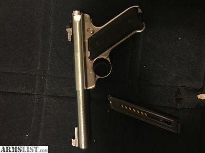 For Sale: Ruger Mark 2 Target Pistol