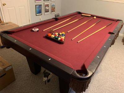 Brunswick Pool Table Bartlett