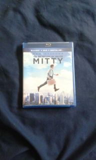 The Secret Life Of Walter Mitty Blu-ray/DVD Combo Pack (Fox 2013, 2014)