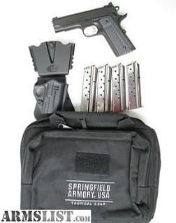 For Sale: Springfield Range Officer Elite Champion 9mm