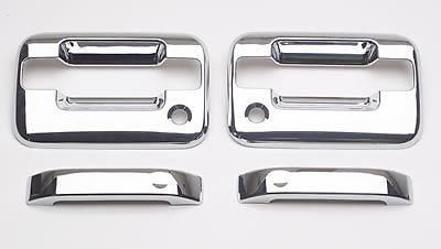 Buy Putco 401001 Door Handle Trim ABS Plastic Chrome Ford F-150 Pickup Pair motorcycle in Tallmadge, Ohio, US, for US $54.97
