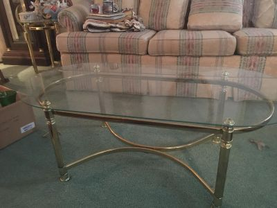 4 Glass Tables