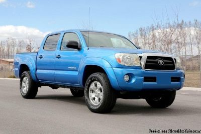 Buy Now! 2007 Toyota Tacoma Double Cab 4x4