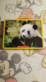 NATIONAL GEOGRAPHIC KIDS SIGHT WORDS