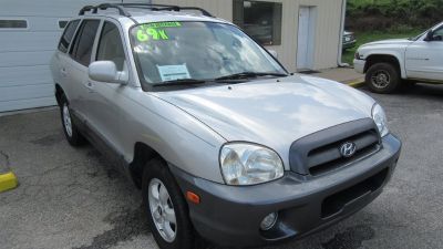 2005 Hyundai Santa Fe GLS (Silver Or Aluminum)