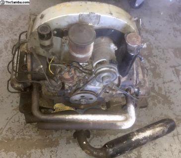 PORSCHE 356SC Engine