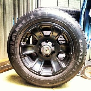 "$1,280 Tires p235/65r17 and Rims Matte Black 17"" XD Series"