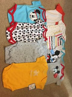 Lot of onesies 3-6 months , new With and without tags