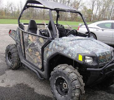 $3,440, 2009 Polaris RZR 800 Mossy Oak Camo ATV
