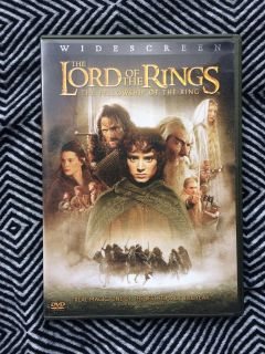 Lord of the Rings: The Fellowship of the Ring DVD