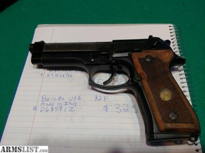For Sale: Beretta 92 f