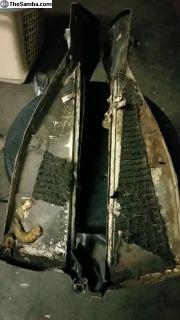 rear brackets with engine tray